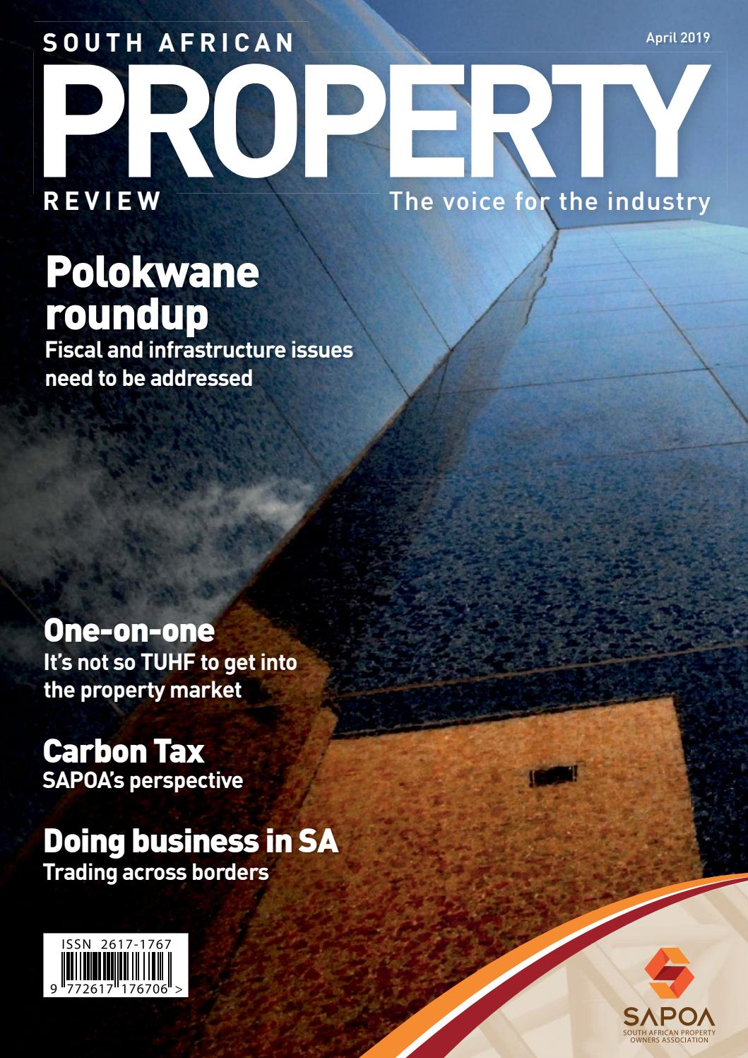 South African Property Review April 2019 by SAPOA - issuu