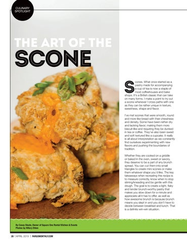 Page 30 of Culinary Spotlight: The Art of the Scone