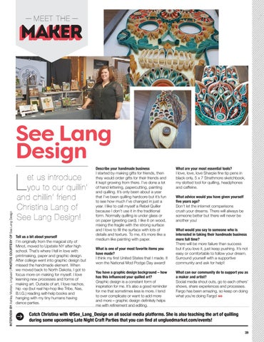 Page 41 of Meet the Maker: See Lang Design
