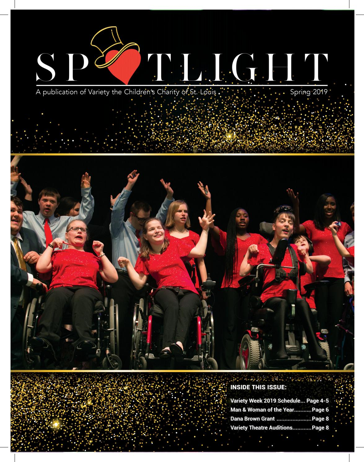 Spring 2019 Spotlight by Variety the Children's Charity of