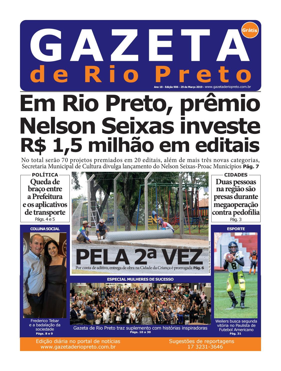 95a6c0b43 Gazeta de Rio Preto - 29/03/2019 by Social Light - issuu