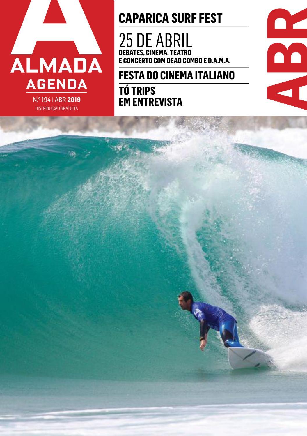 Agenda Almada N º 194 - abril 2019 by Câmara Municipal de