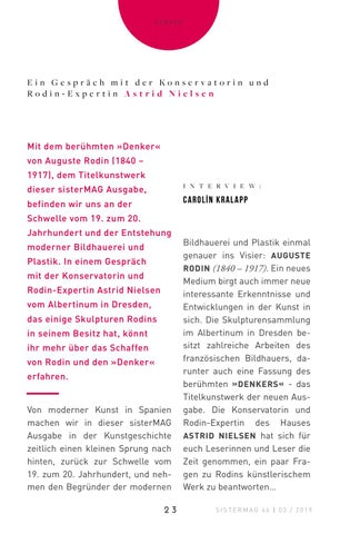 Page 23 of Interview Albertinum Dresden