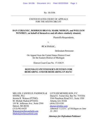Def's Petition for Hearing En Banc by Akeel & Valentine - issuu