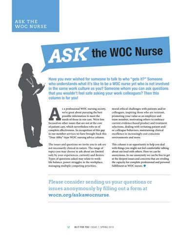 Page 12 of Ask The WOC Nurse