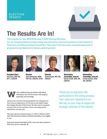 Page 5 of 2019 Election Results