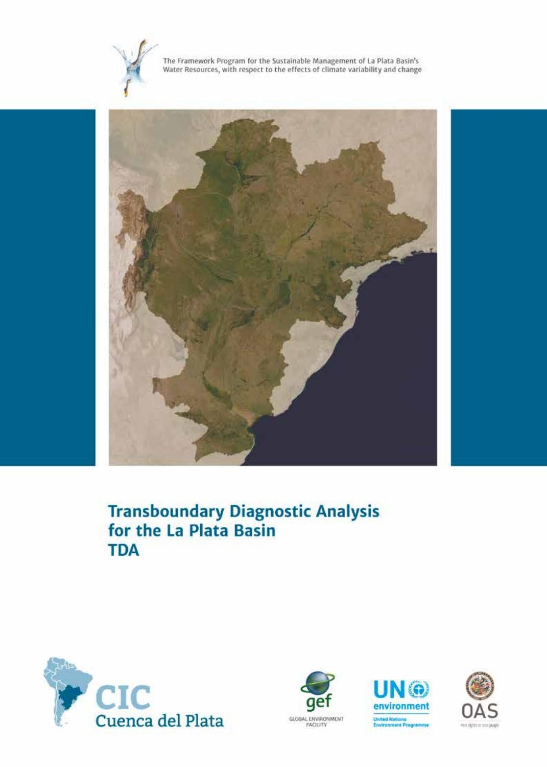 Transboundary Diagnostic Analysis for the La Plata Basin TDA