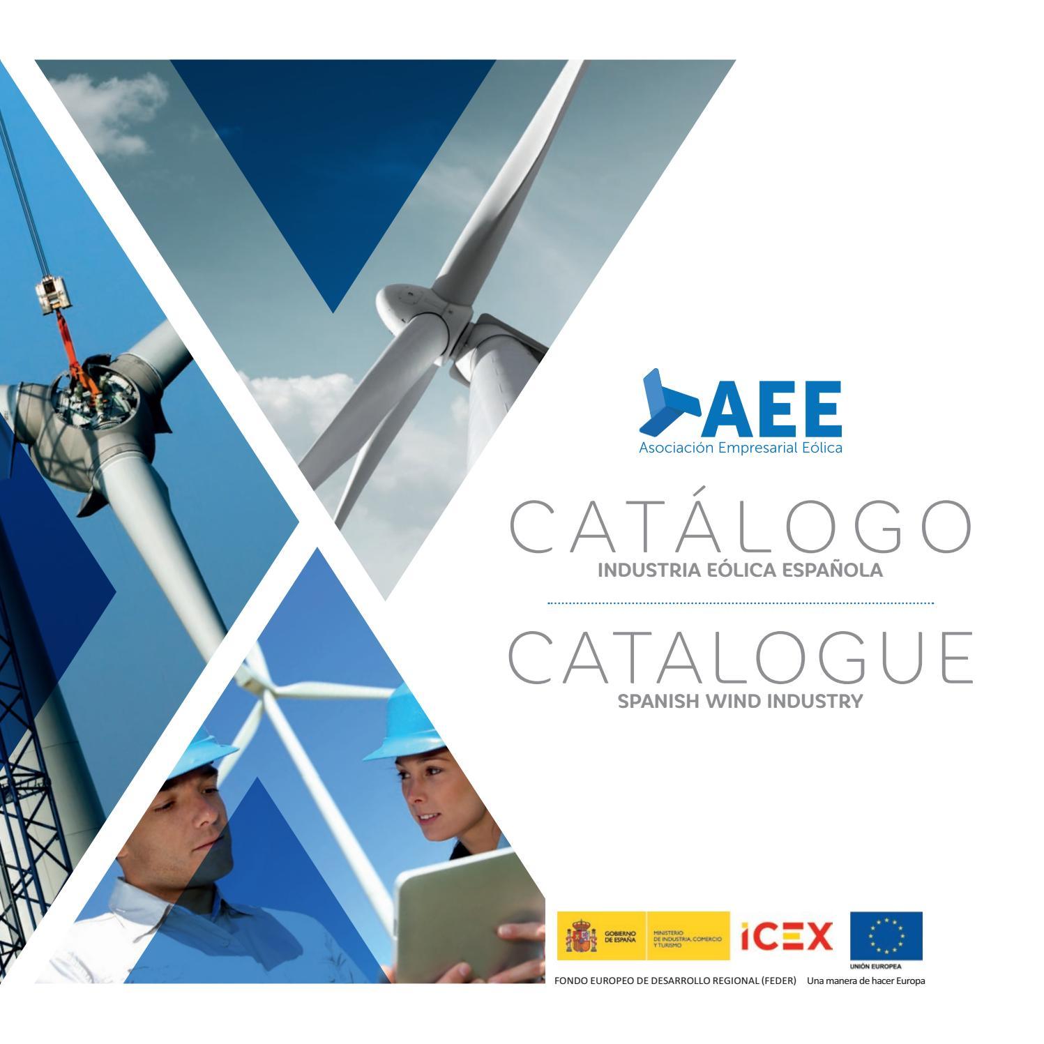 Catálogo de la Industria Eólica Española by AEEOLICA AEE - issuu