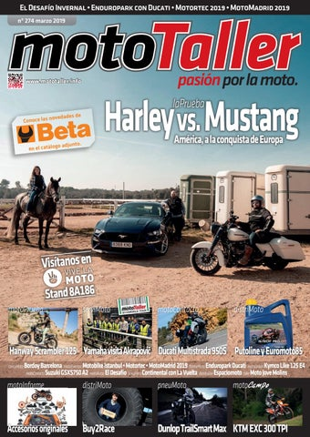 MotoTaller 274 marzo 2019 by CEI Arsis, S. L. issuu