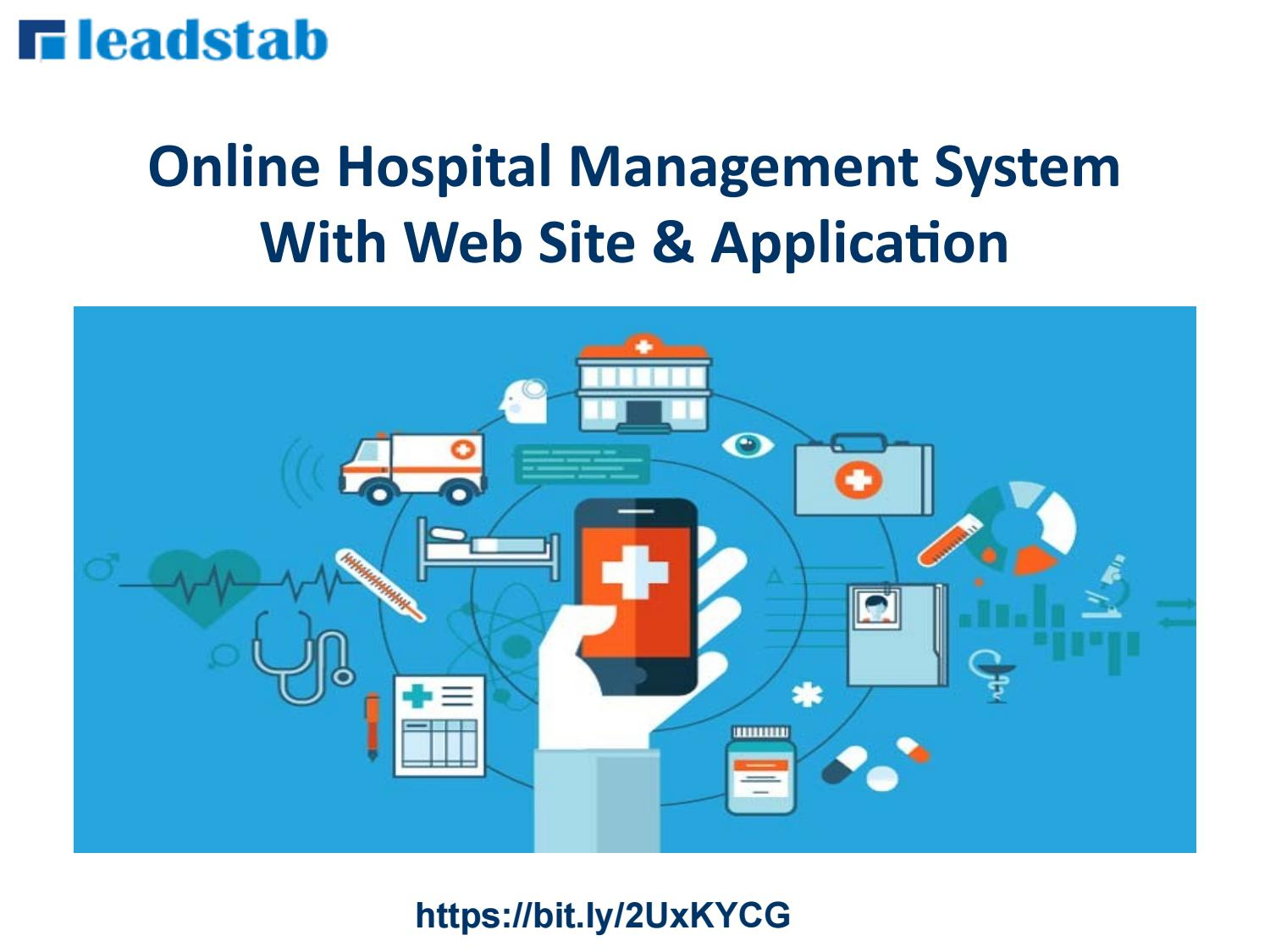 Online Hospital Management System with Dynamic Website by