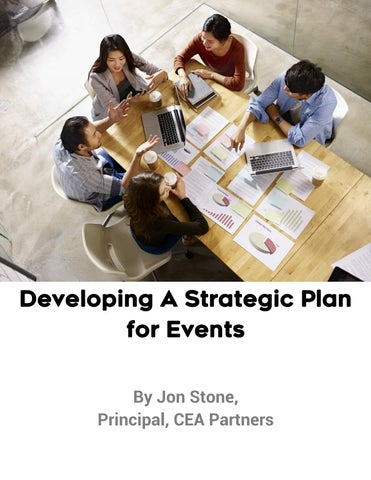 Page 6 of Developing a Strategic Plan for Events