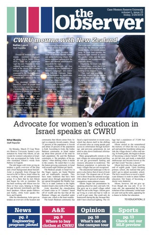 bedc281847 The Observer, Volume L, Issue 23, 3/29/19 by The Observer - issuu