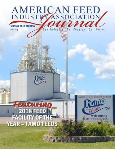 AFIA Spring 2019 Journal by American Feed Industry