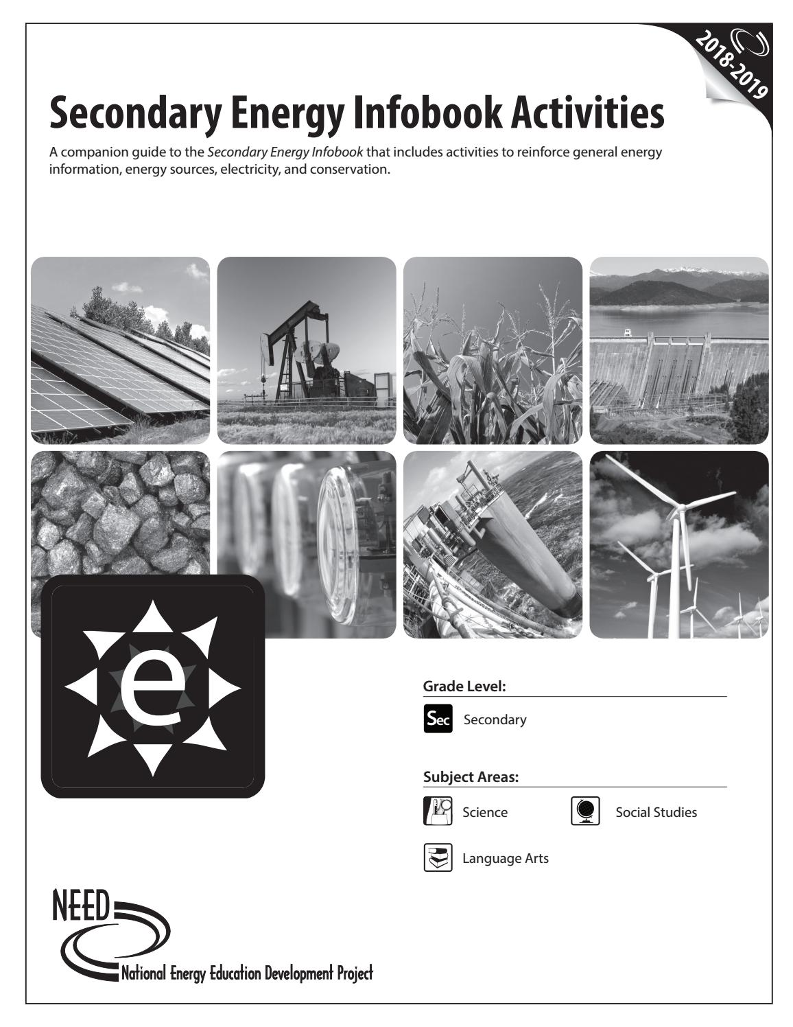Secondary Energy Activities Infobook by NEED Project - issuu