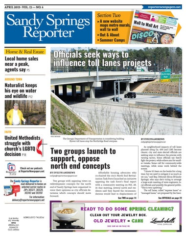 APRIL 2019 - Sandy Springs Reporter by Reporter Newspapers - issuu