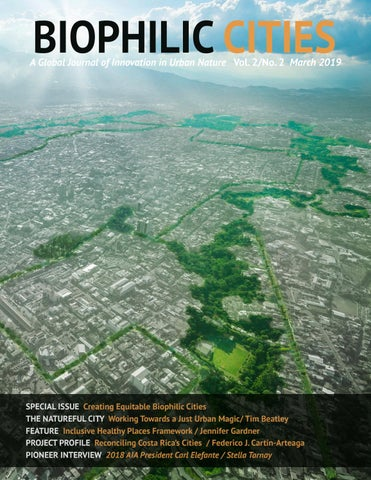 2d5b4a46906 Biophilic Cities Journal Vol. 2, No. 2 (March 2019) by Biophilic ...