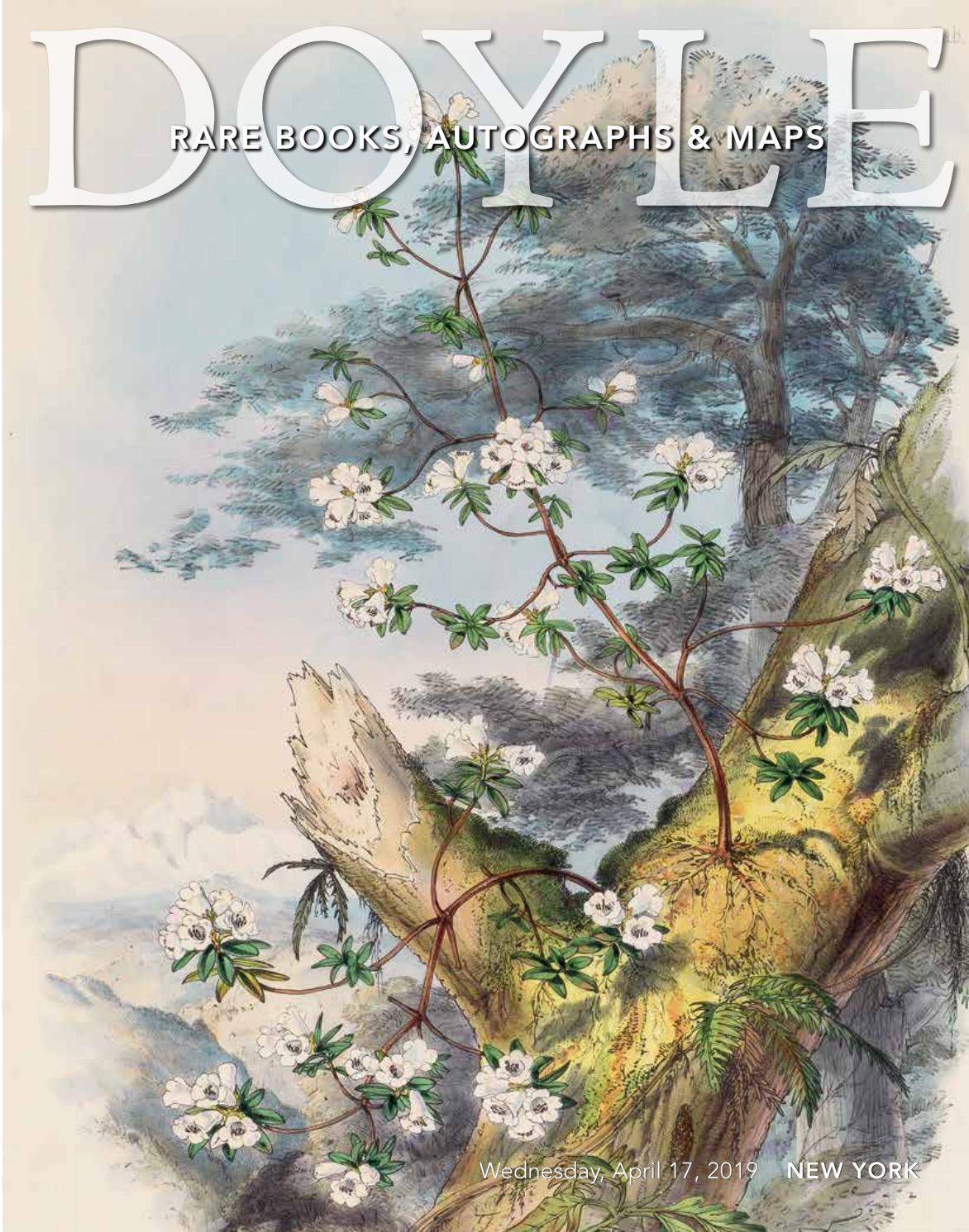 Rare Books, Autographs & Maps - 4.17.19 by Doyle - issuu on