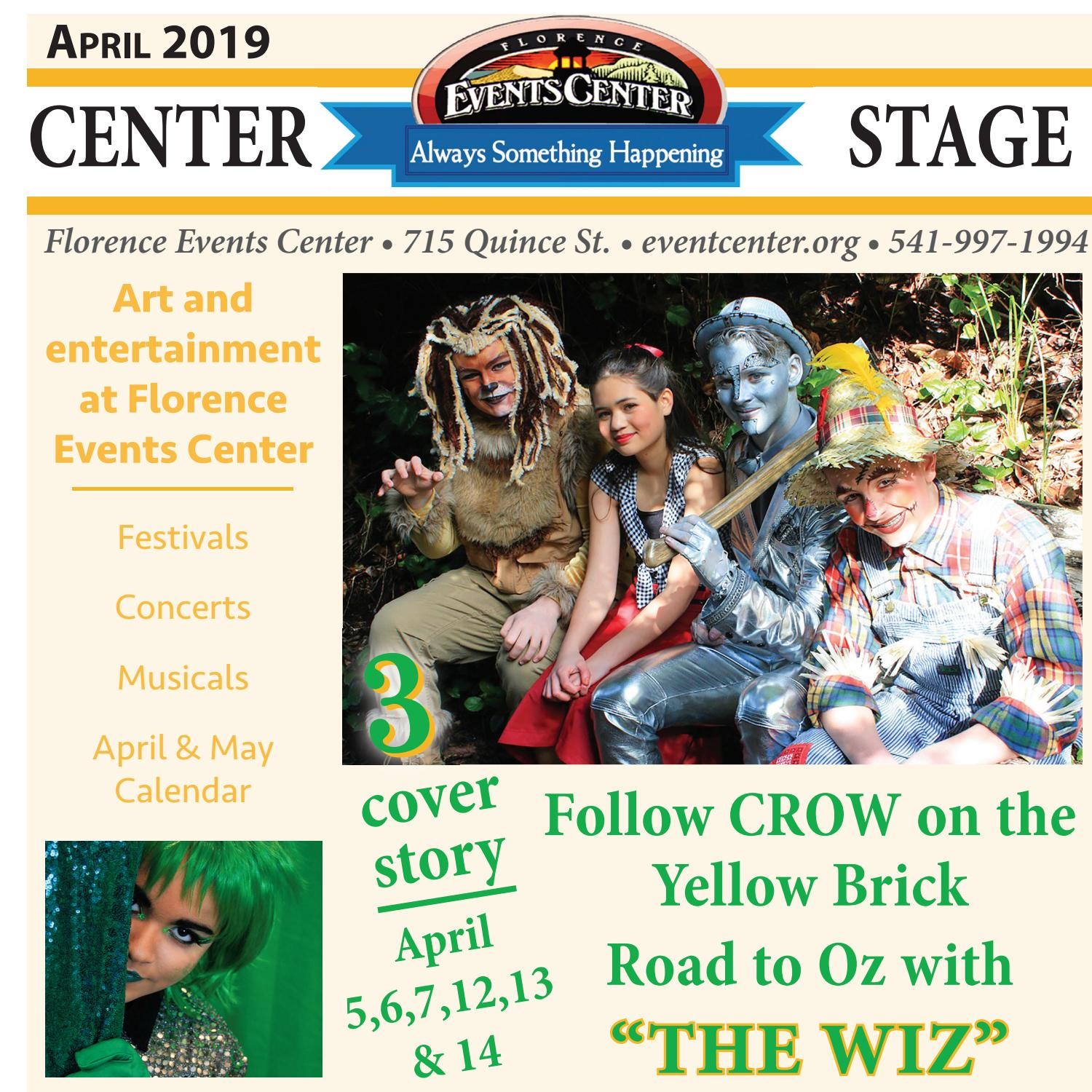Center Stageg, April 2019 by Siuslaw News - issuu