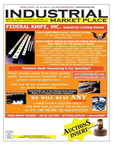 IMP Magazine 4-4-19 by Industrial Market Place - issuu