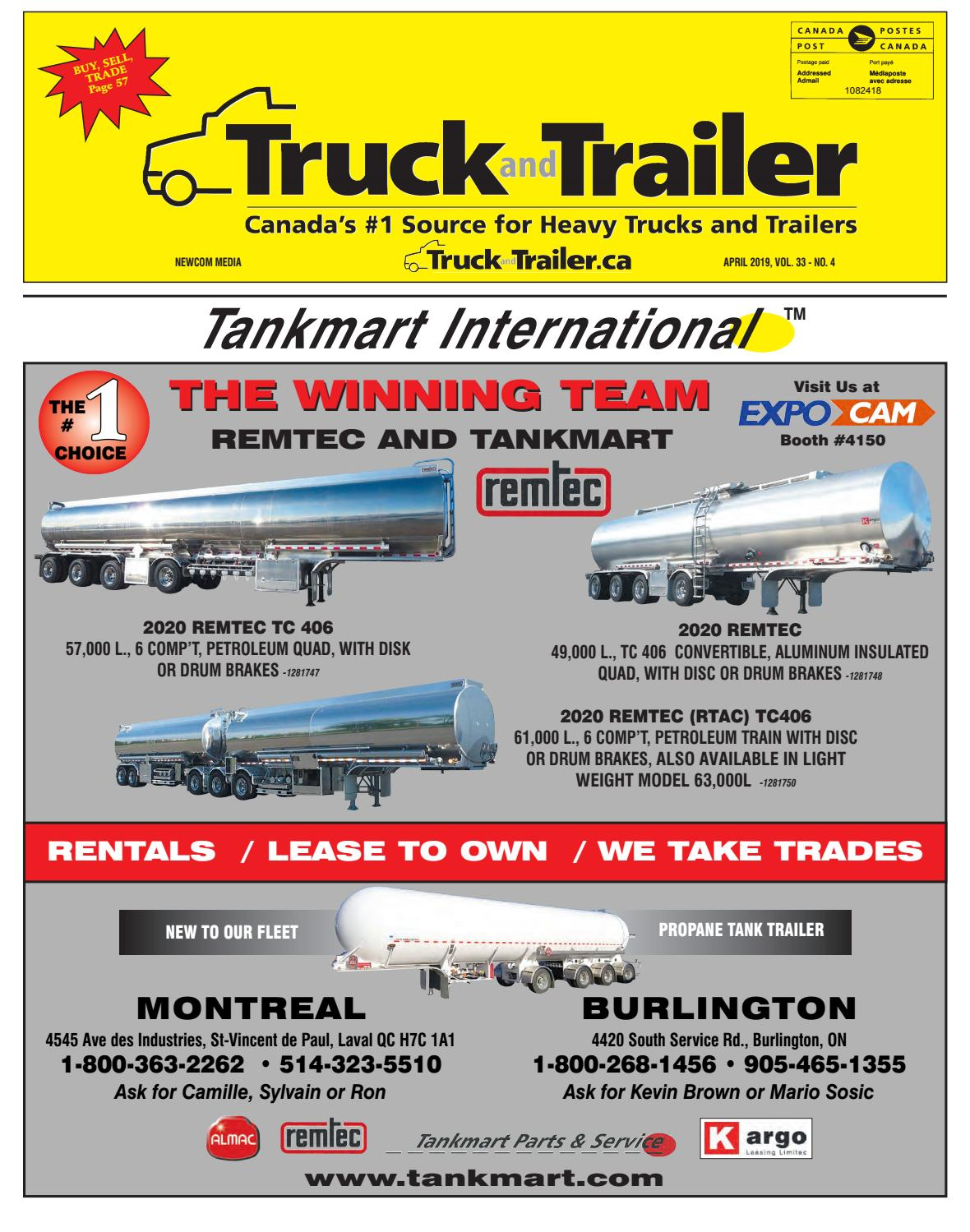 Truck and Trailer April 2019 by Annex Business Media - issuu