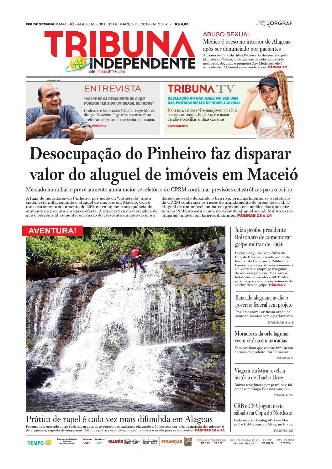 f2d1c5fae070a Edição número 3362 – 30 31 de março de 2019 by Tribuna Hoje - issuu