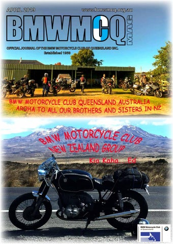BMW MOTORCYCLE CLUB QUEENSLAND MONTHLY JOURNAL APRIL 2019 by