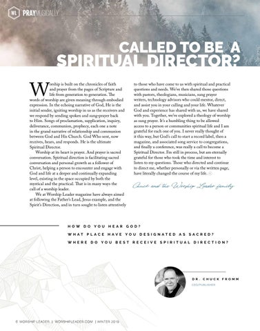 Page 6 of CALLED TO BE A SPIRITUAL DIRECTOR?