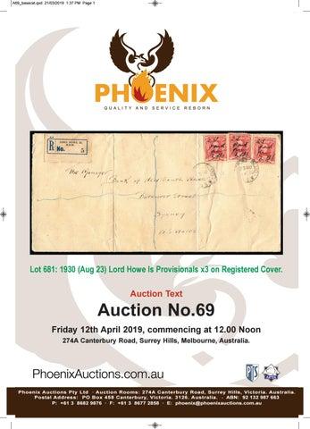 Phoenix Auctions #69 (Text) by Phoenix Auctions Pty Ltd - issuu
