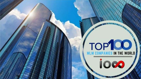 Top 100 MLM Companies in the world : Best Direct Selling company by