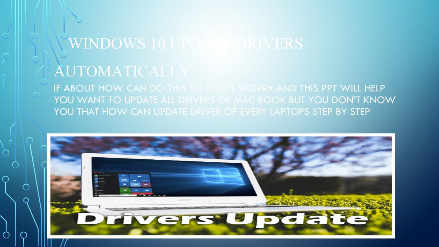 How To Solve Driver Issues of Computer by This PPT by Palak Mehta