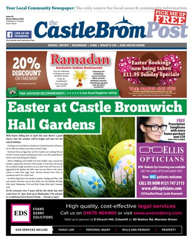 Castle Bromwich Post, Issue 25 March 2019 by hyperbole-ltd