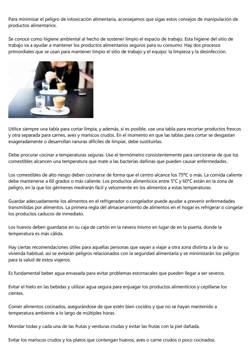 Practicas Adecuadas De Seguridad De Los Alimentos By Fernando4q9a Issuu Este documento ha sido generado para los medios de comunicación con trascendencia a nivel nacional, líderes de opinión y tomadores de decisiones con el fin de informar sobre tendencias e indicadores laborales dur. issuu