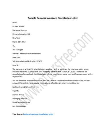 Writing A Letter To Insurance Company from image.isu.pub