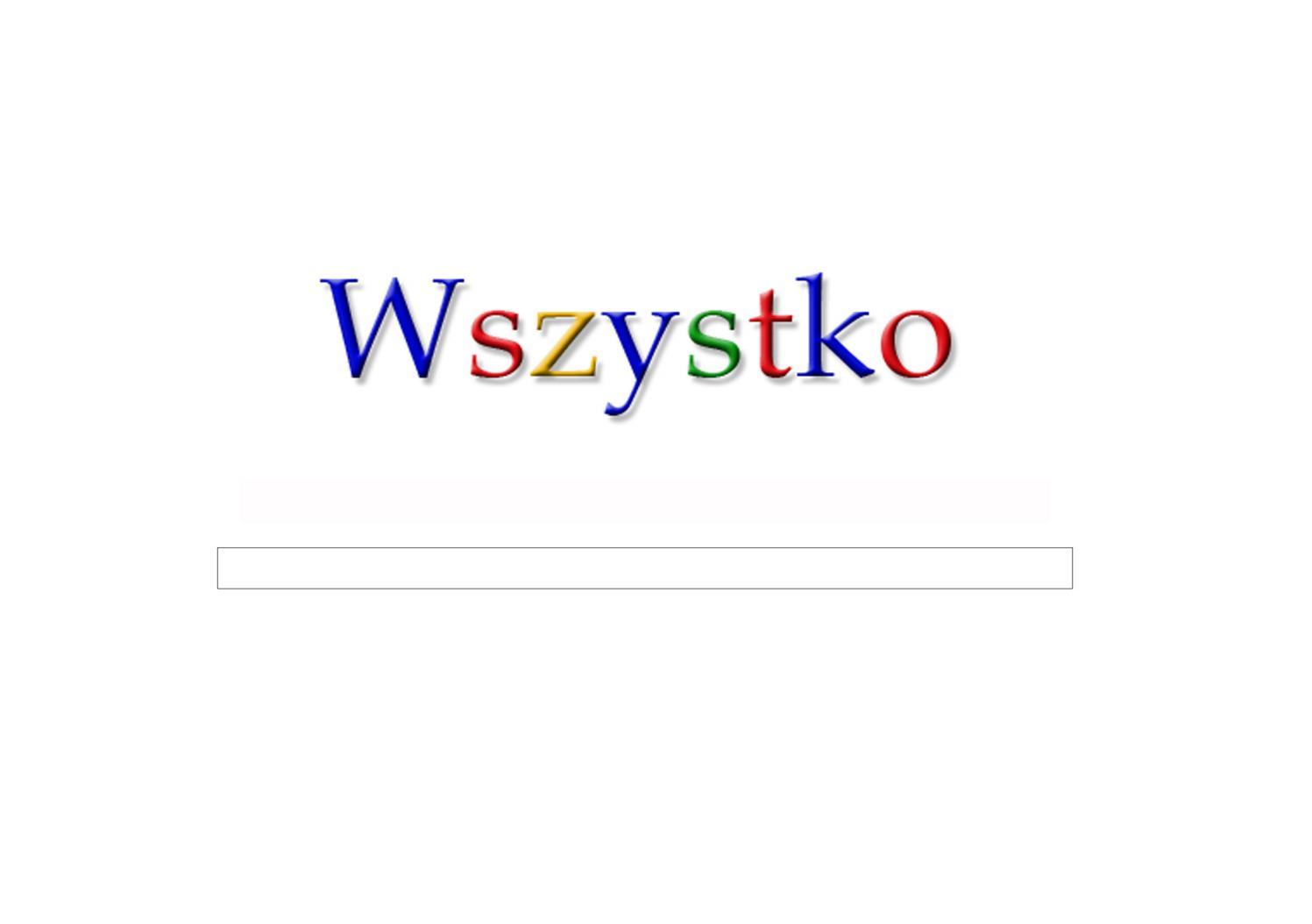 Wszystko Sugestie Google Dla Mojego Ip Tomik Poezji