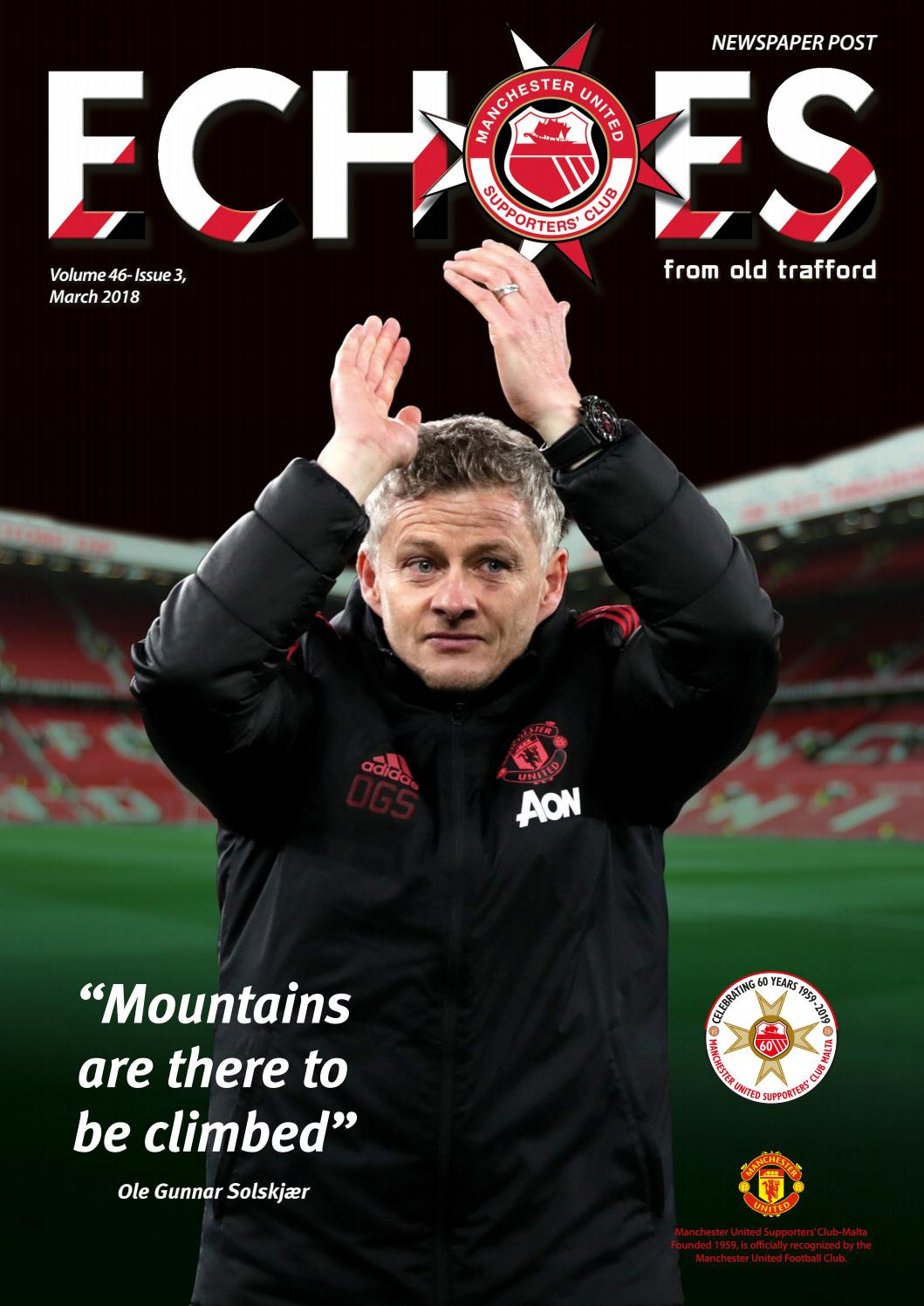 1db8e9274 Echoes from Old Trafford - March 2019 by Manchester United Supporters' Club  Malta - issuu