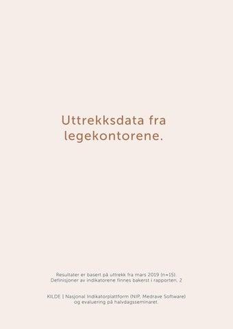 Page 12 of Uttrekksdata fra legekontorene.