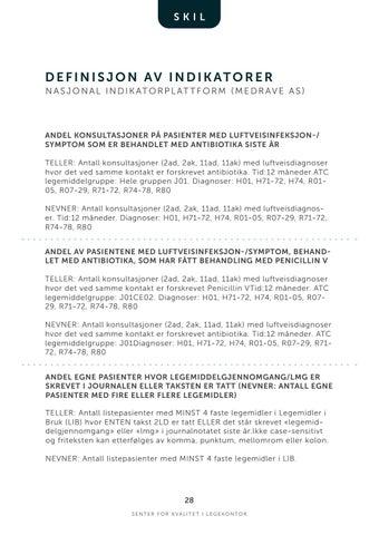 Page 28 of Nasjonal Indikatorplattform | Indikatorer