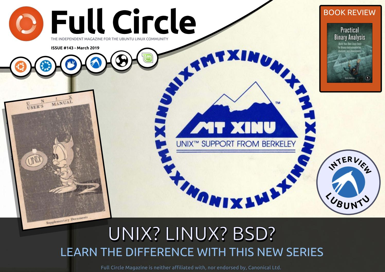 Full Circle Magazine #143 by Ronnie Tucker - issuu