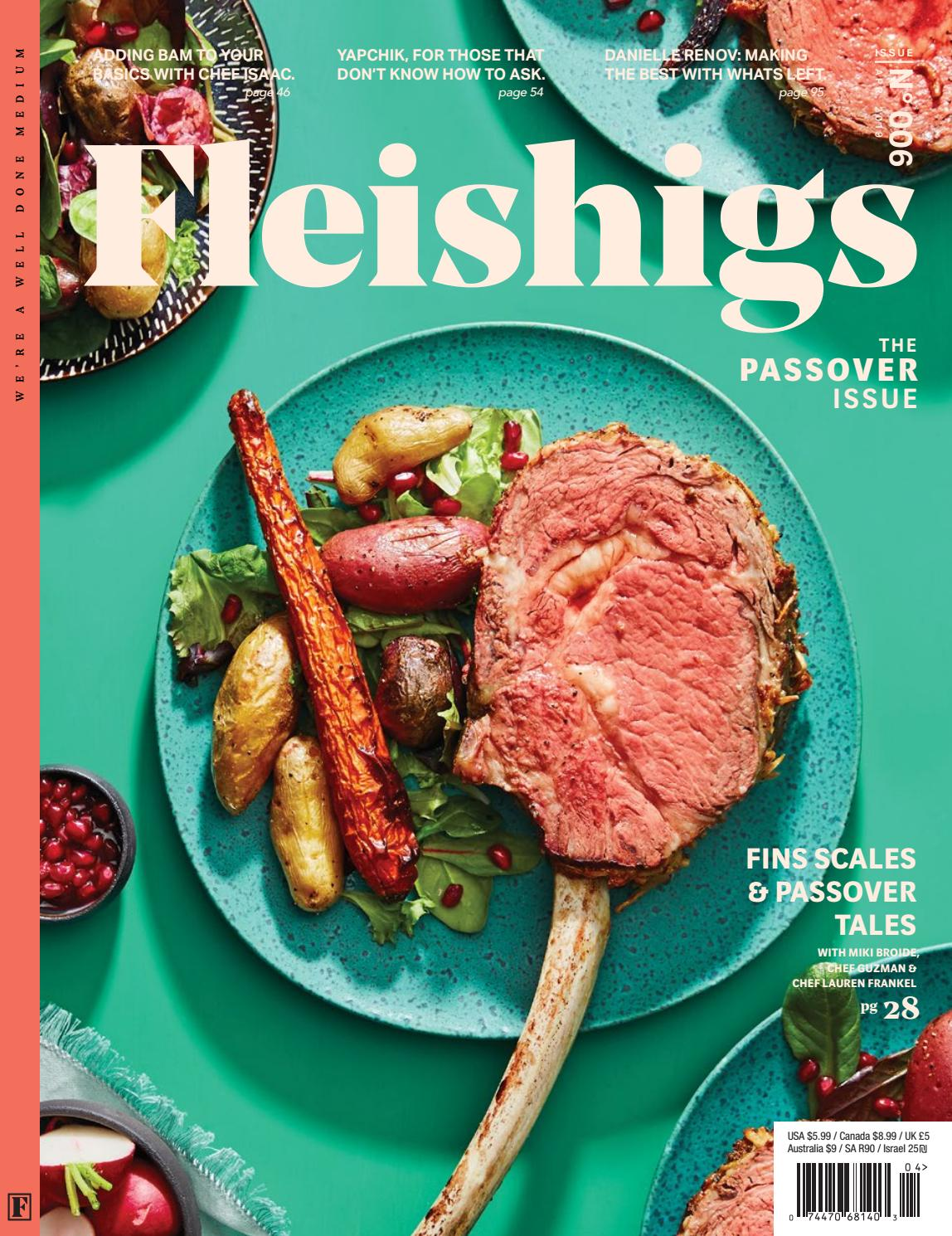 Fleishigs Magazine Issue 006 - April 2019 by Fleishigs