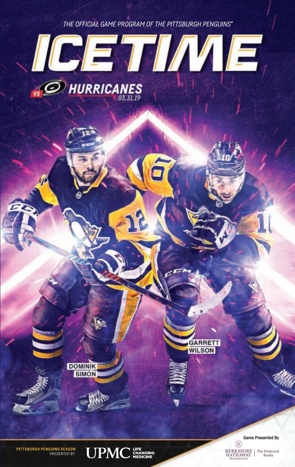 44152690045 IceTime - Game 39 vs. Carolina Hurricanes 03.31.19 by Pittsburgh ...