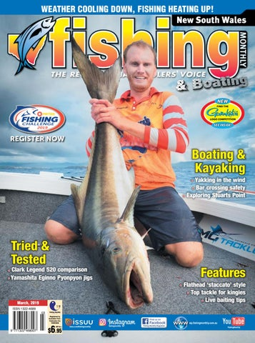 New South Wales Fishing Monthly March 2019 by Fishing