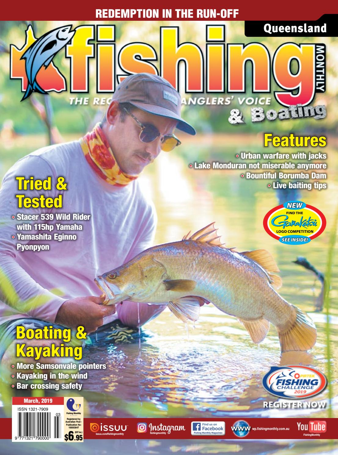 Queensland Fishing Monthly March 2019 by Fishing Monthly - issuu