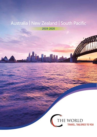 Destination Australia Nz 2019 20 Ctheworld Brochure By