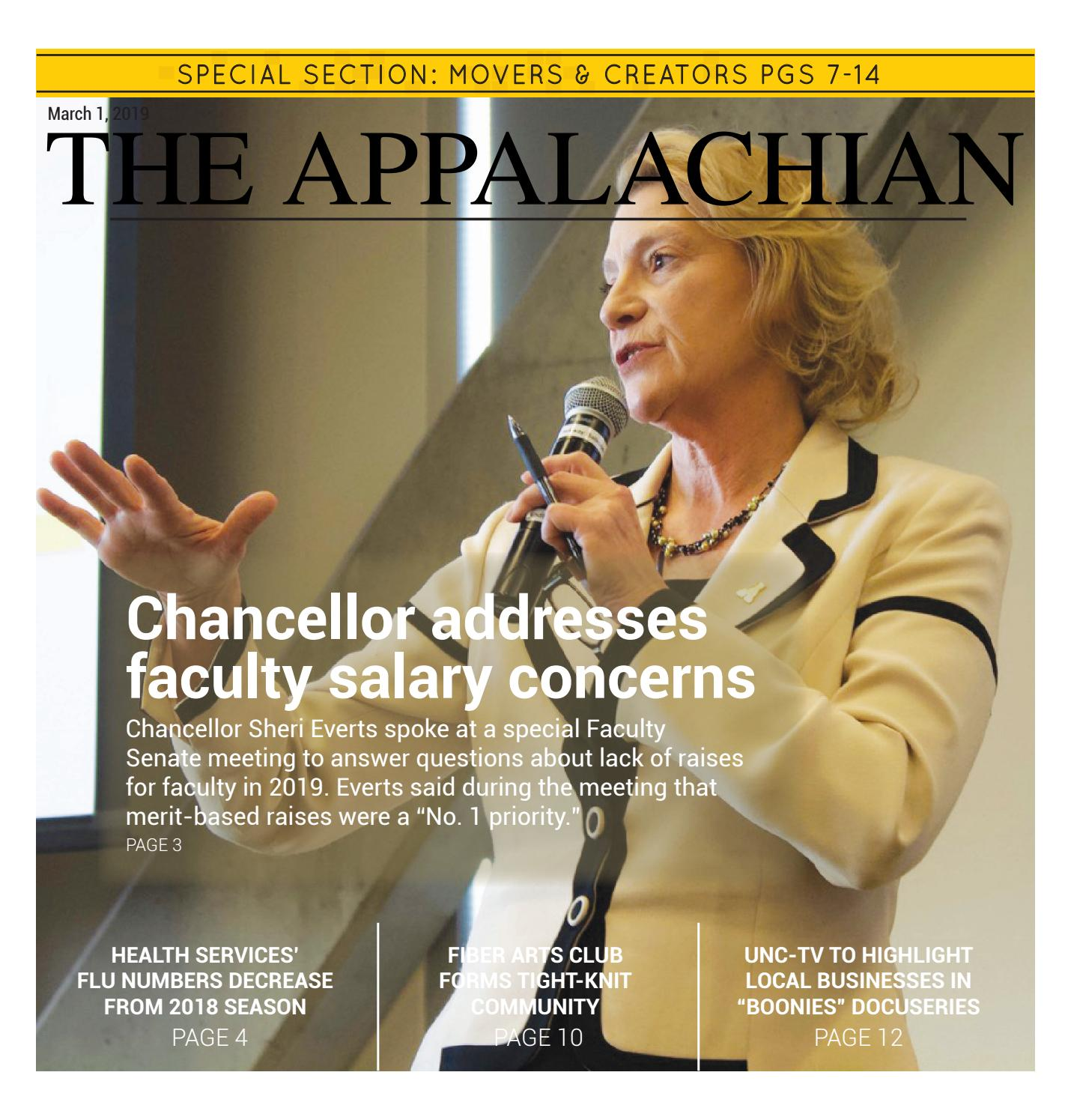 March 1, 2019 by The Appalachian - issuu