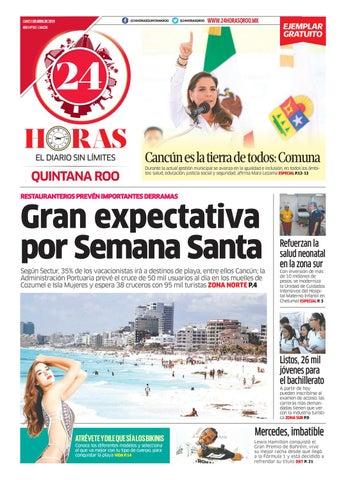 6d7095747030 24 Horas Quintana Roo: 1 de Abril 2019 by 24 Horas Quintana Roo - issuu