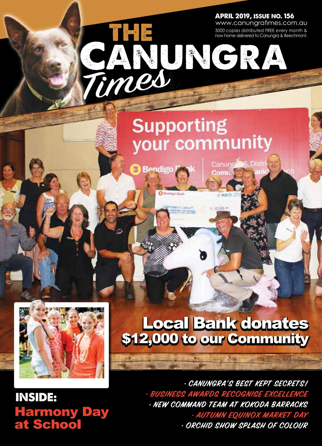 Canungra Times April 2019 edition by The Canungra Times - issuu
