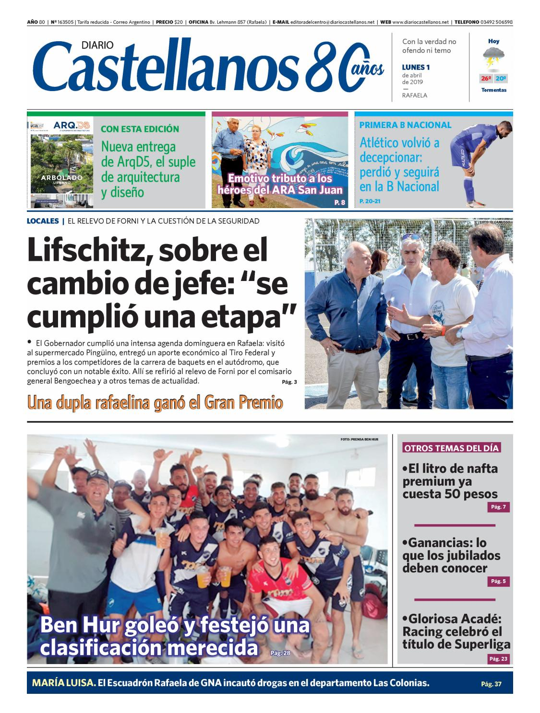 Diario Castellanos 01 04 19 By Diario Castellanos Issuu