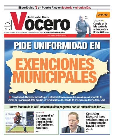 43e15436e Edición del 13 de mayo de 2019 by El Vocero de Puerto Rico - issuu