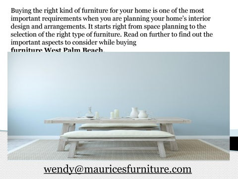 Buying The Right Kind Of Furniture For Your Home Is One Of The Most  Important Requirements When You Are Planning Your Homeâu0026#x20AC;u0026#x2122;s  Interior Design ...