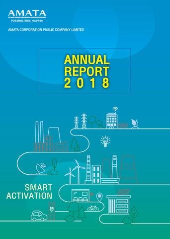 AMATA : Annual Report 2018 by Piyanat Kimhamanon - issuu